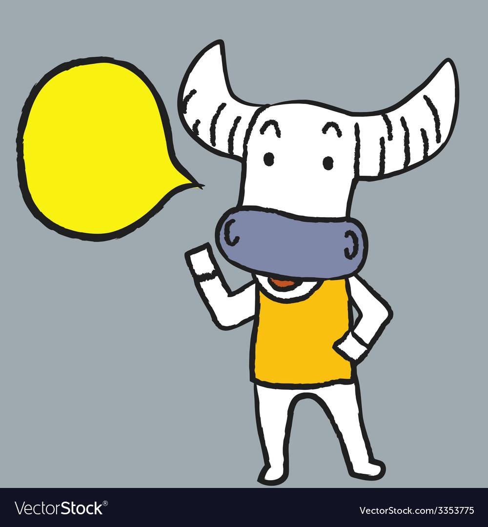 Buffalo said vector   Price: 1 Credit (USD $1)