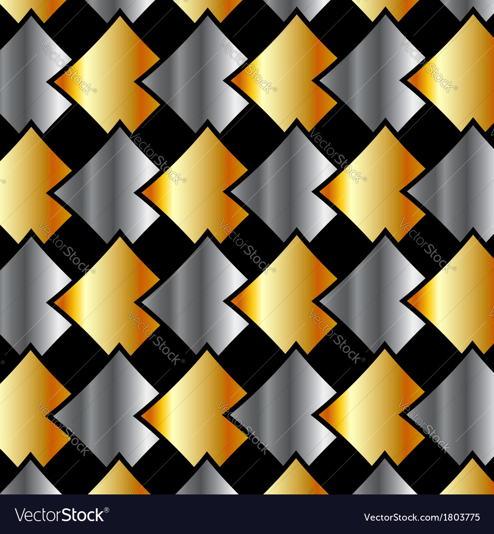 Metallic tile background vector | Price: 1 Credit (USD $1)