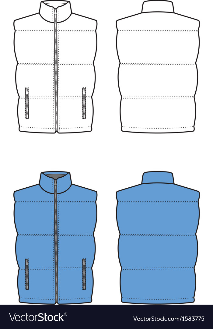 Waistcoat vector | Price: 1 Credit (USD $1)