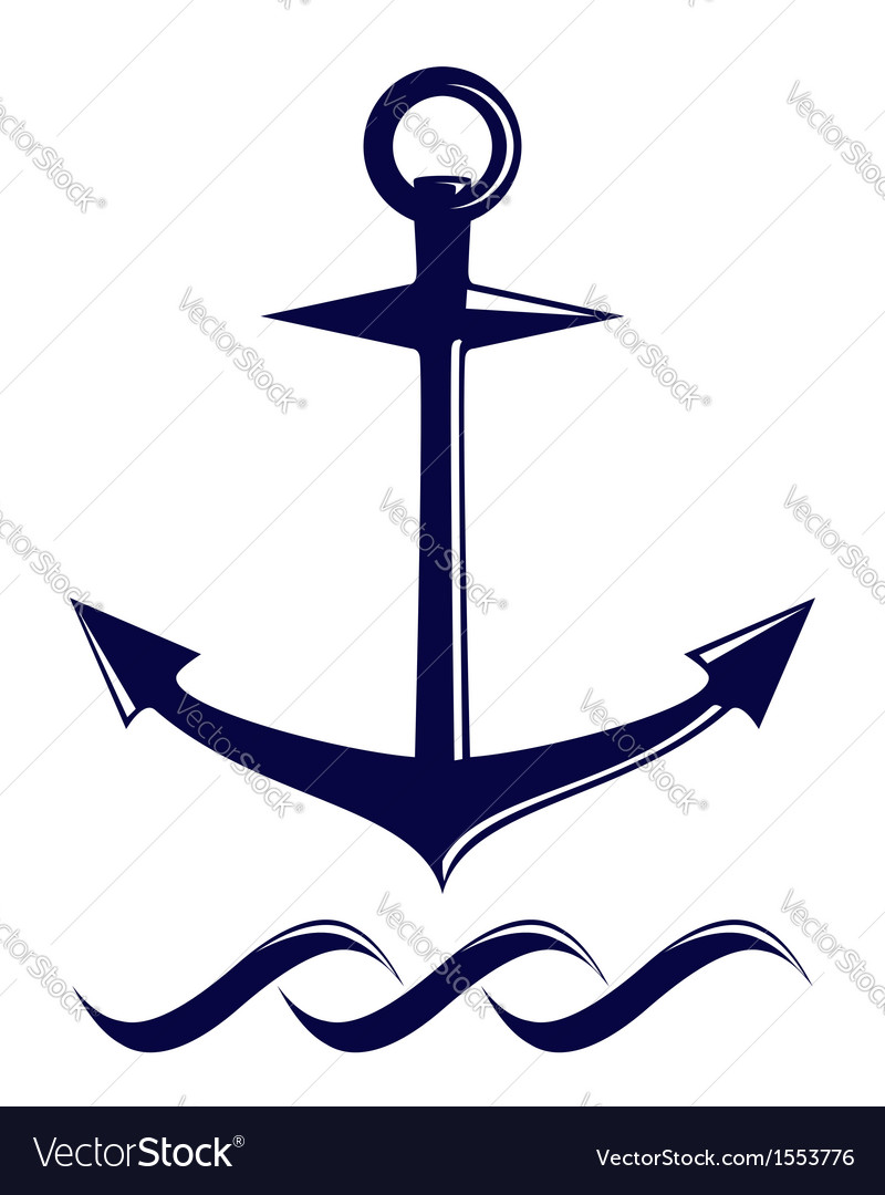Anchor symbol vector | Price: 1 Credit (USD $1)