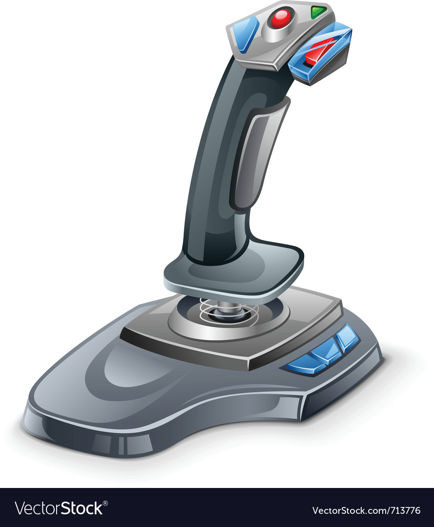 Joystick vector | Price: 3 Credit (USD $3)