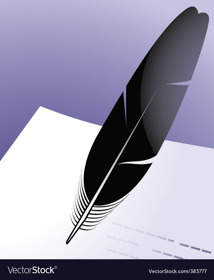 Quill vector | Price: 1 Credit (USD $1)