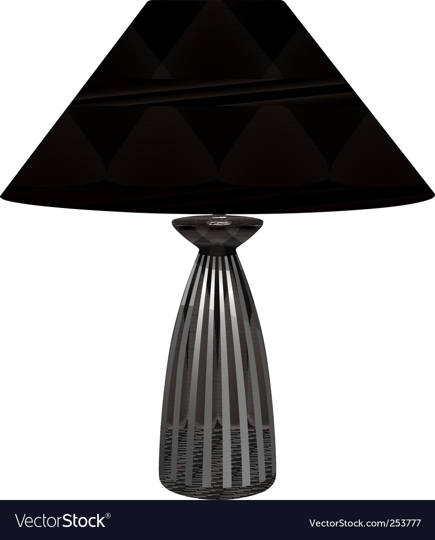 Table lamp vector   Price: 1 Credit (USD $1)