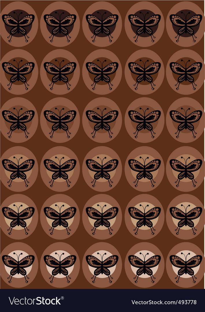 Funky butterflies vector | Price: 1 Credit (USD $1)