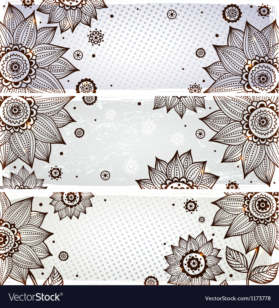 Sunflower bookmarks vector | Price: 1 Credit (USD $1)