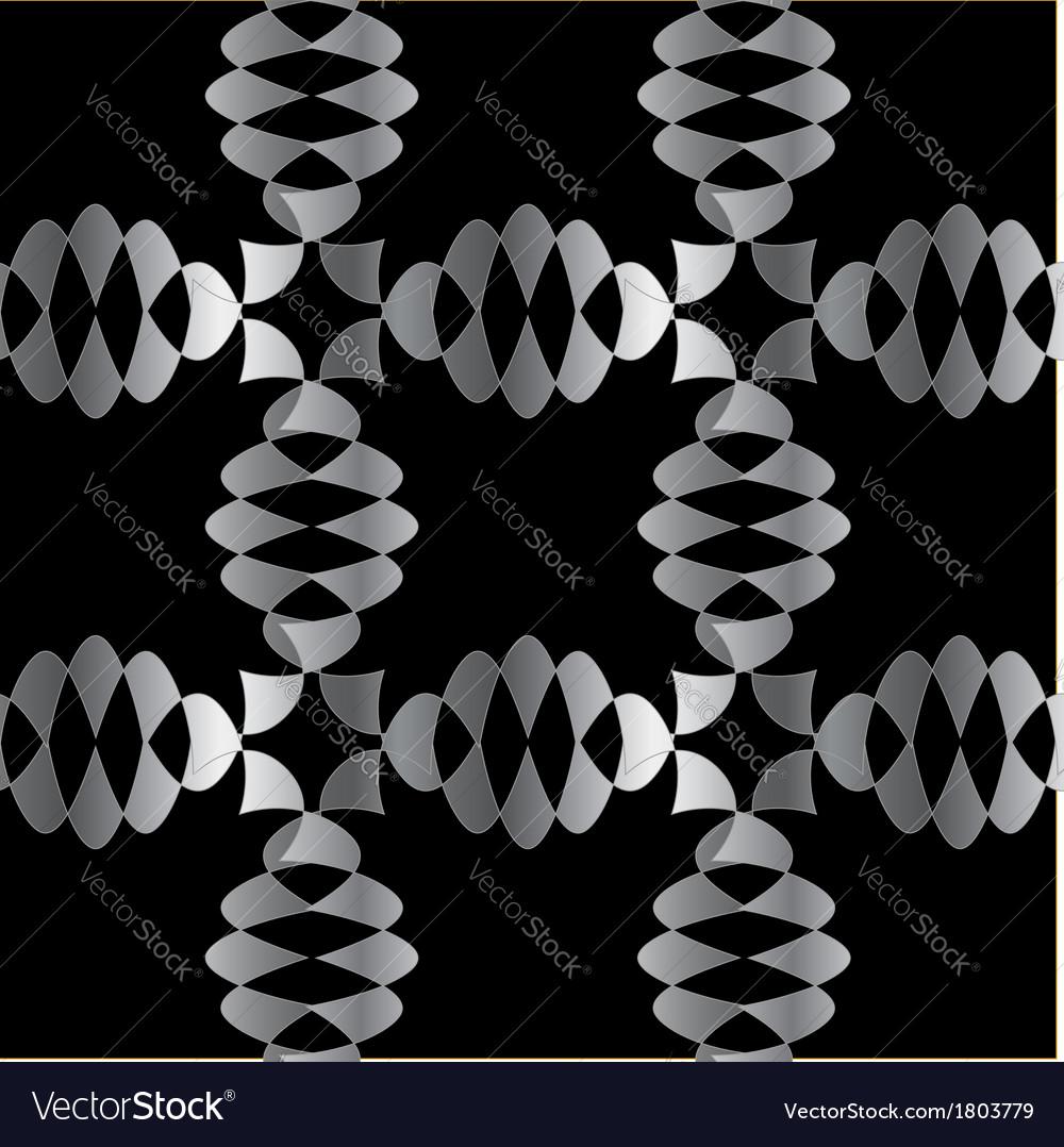 Silver ornamental background vector | Price: 1 Credit (USD $1)