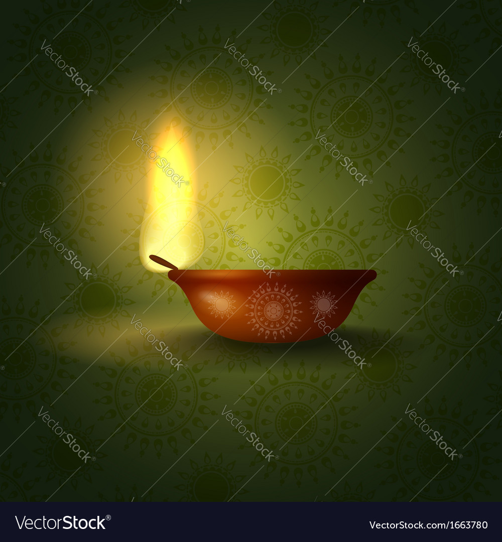 Happy diwali festival vector | Price: 1 Credit (USD $1)
