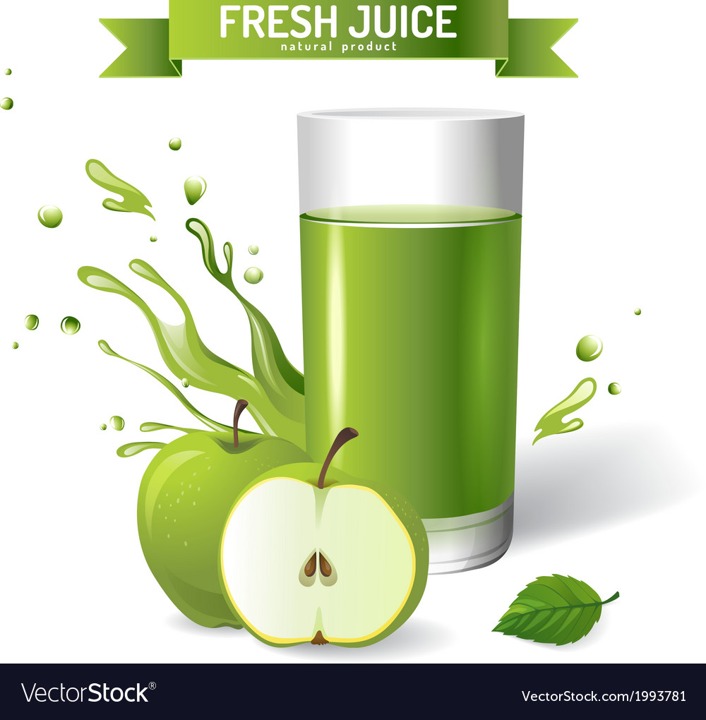 Fresh juice vector | Price: 1 Credit (USD $1)