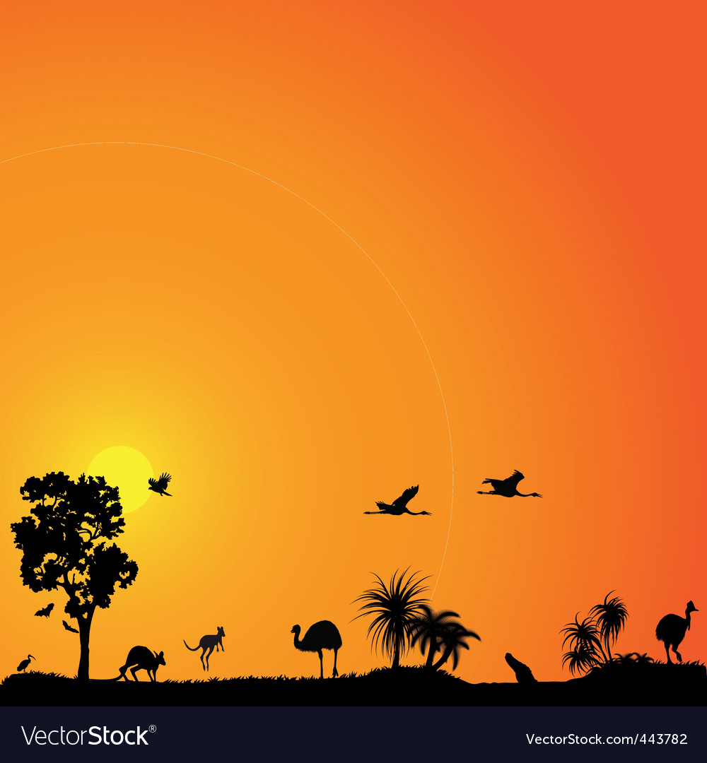 background with austral vector | Price: 1 Credit (USD $1)