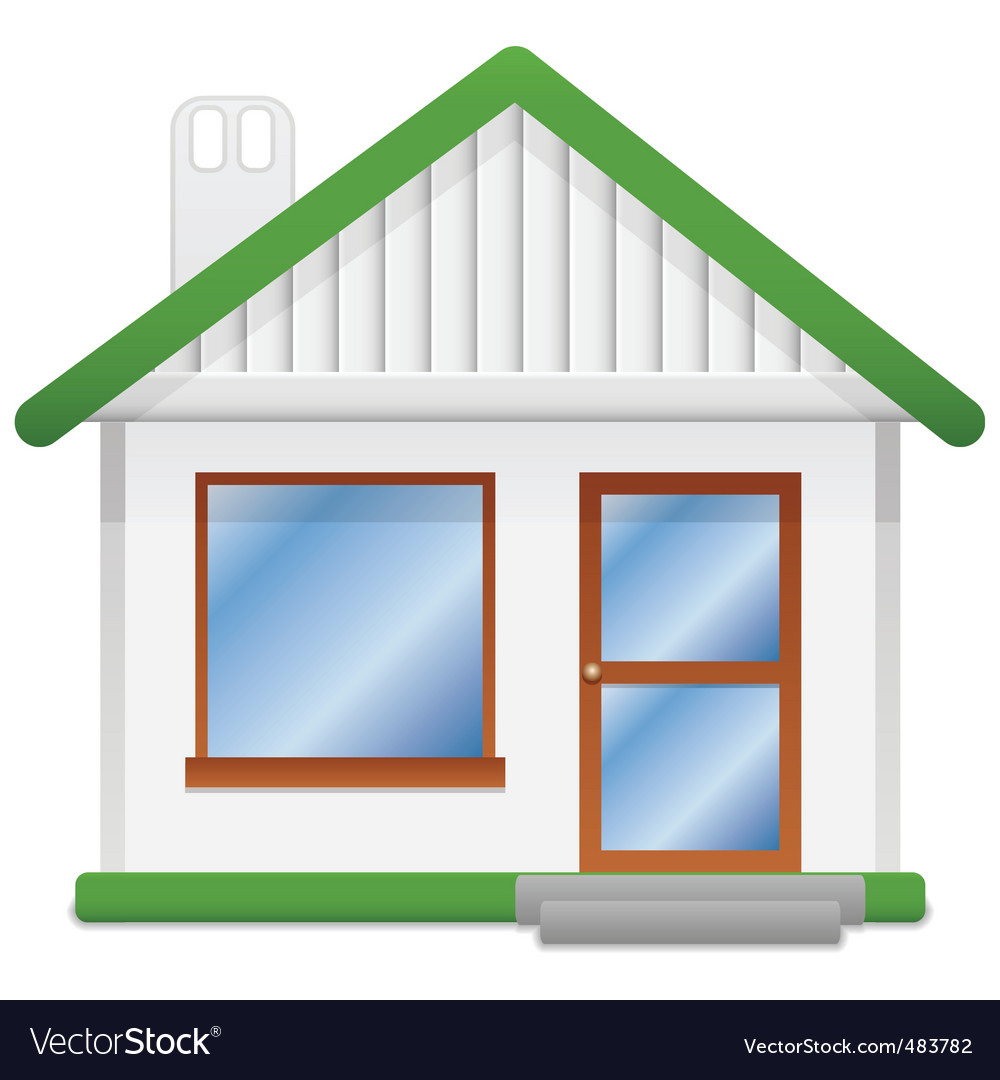 Icon home vector | Price: 1 Credit (USD $1)