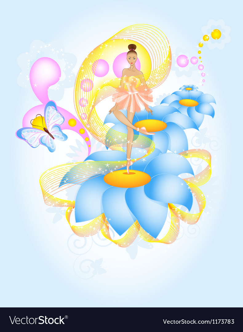 Fairytale ballet vector | Price: 3 Credit (USD $3)