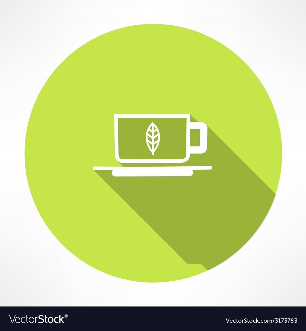 Green tea symbols vector | Price: 1 Credit (USD $1)