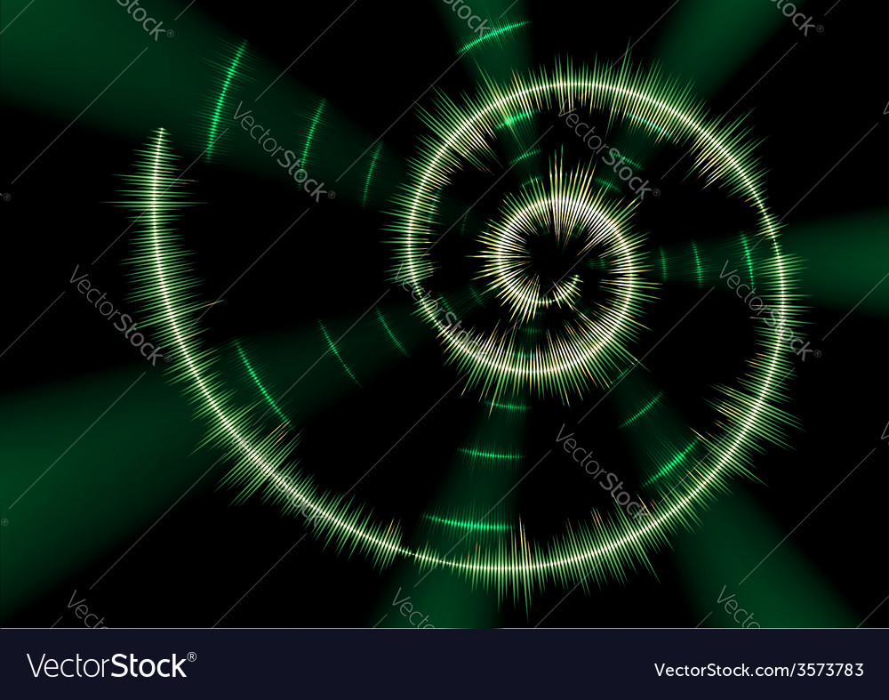 Spiral music waveform vector | Price: 1 Credit (USD $1)