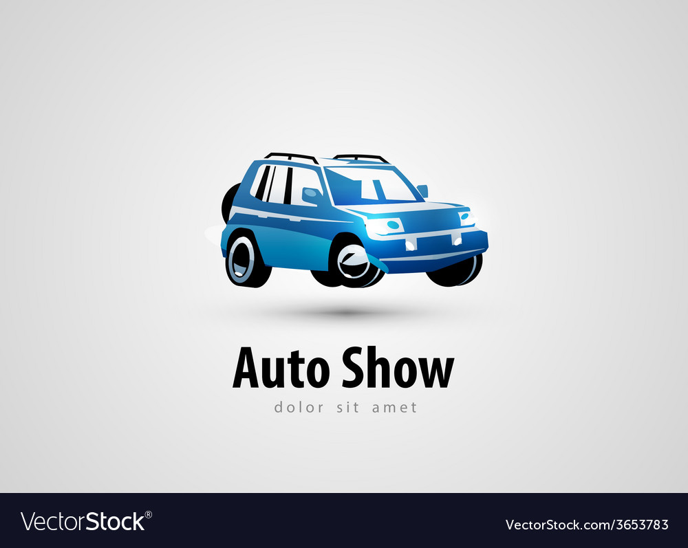 Suv logo design template transport or car icon vector | Price: 1 Credit (USD $1)