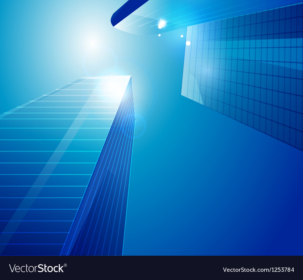 Business centre background vector | Price: 1 Credit (USD $1)