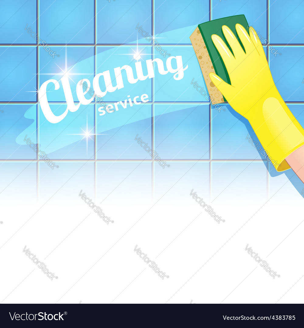 Cleaning background headline vector | Price: 1 Credit (USD $1)
