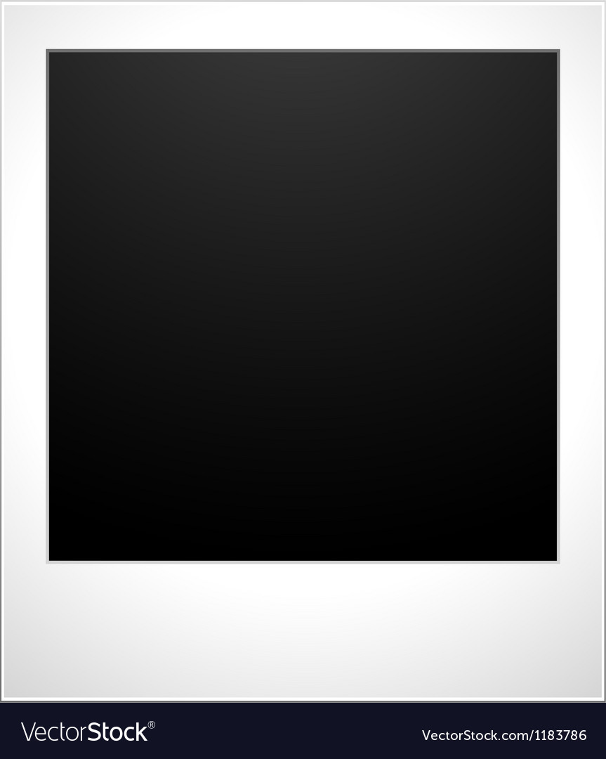 Blank polaroid snaps vector | Price: 1 Credit (USD $1)