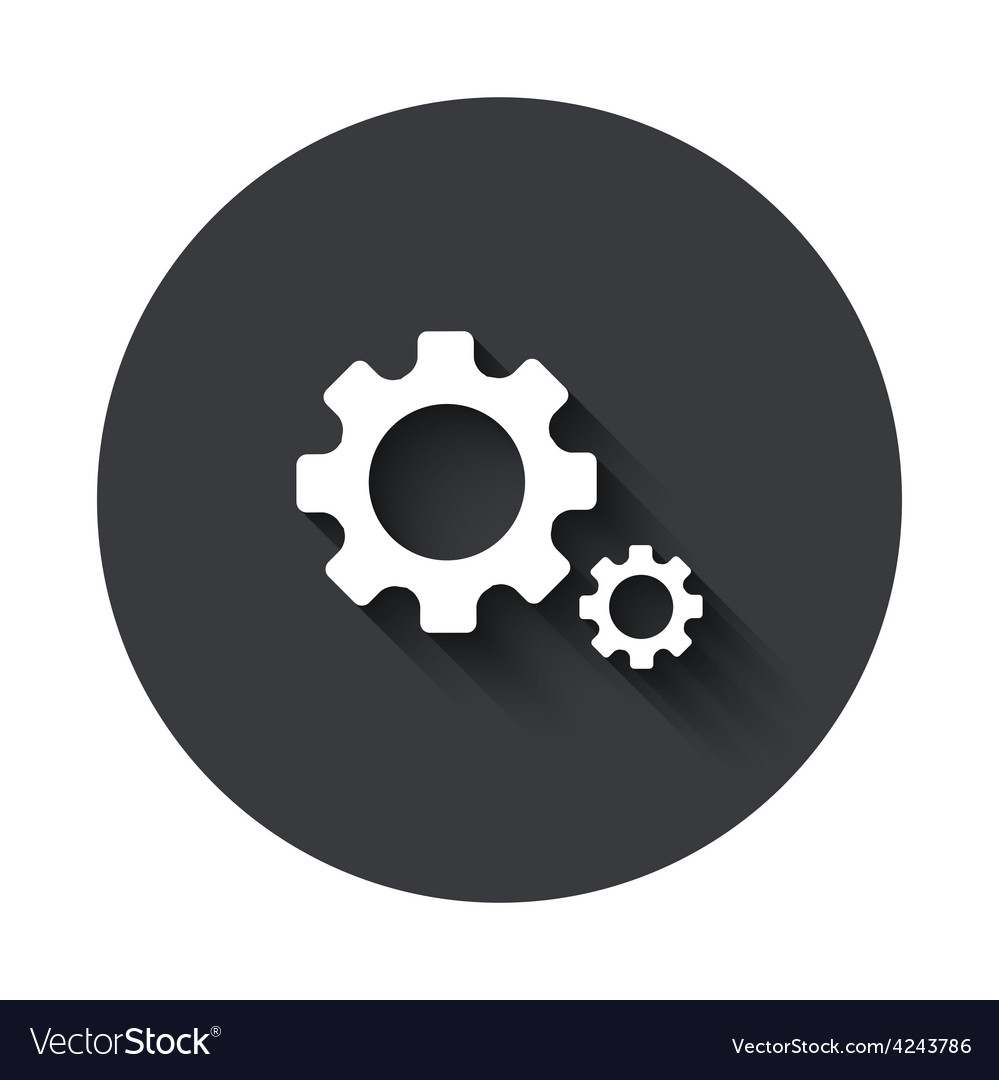 Modern gray circle icon vector | Price: 1 Credit (USD $1)
