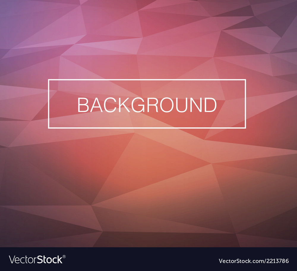 Triangle warm background vector | Price: 1 Credit (USD $1)