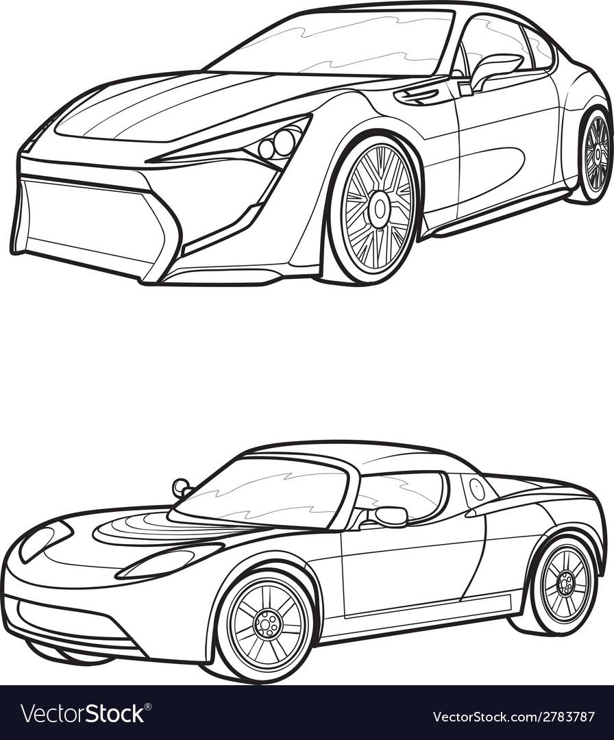 Car3 vector | Price: 1 Credit (USD $1)