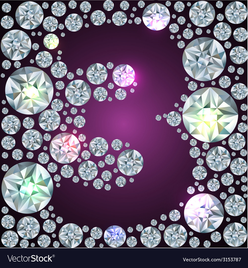 Diamond number three vector   Price: 1 Credit (USD $1)