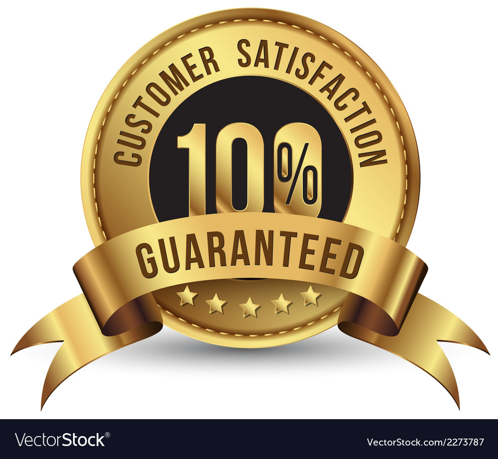 Guaranteed gold tag vector | Price: 1 Credit (USD $1)