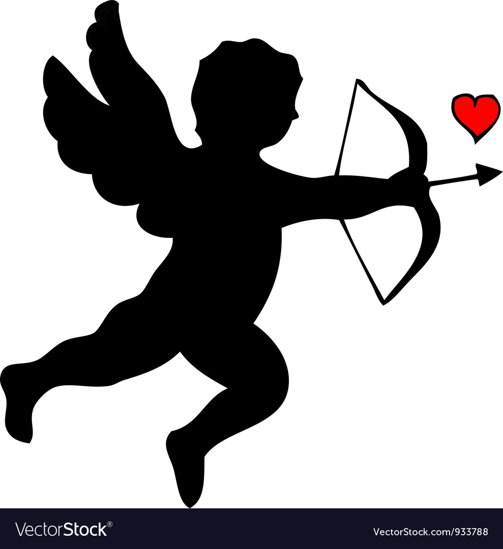Cupid vector | Price: 1 Credit (USD $1)