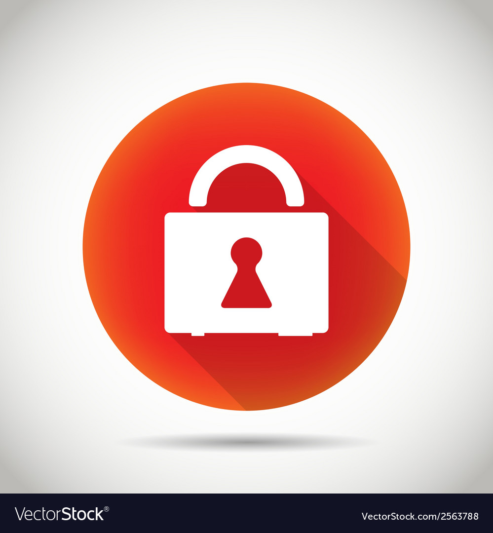 Lock icon vector   Price: 1 Credit (USD $1)