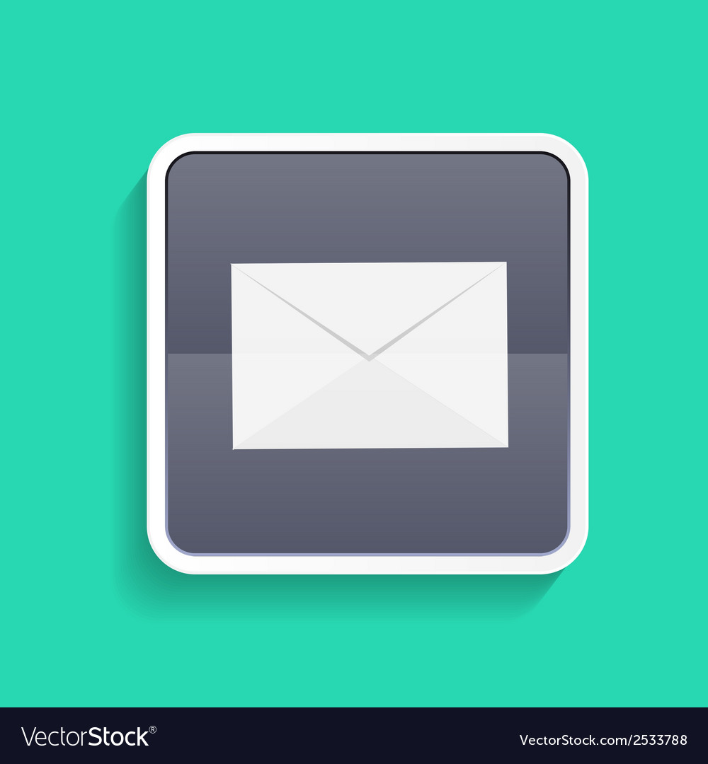 Mail flat concept vector | Price: 1 Credit (USD $1)