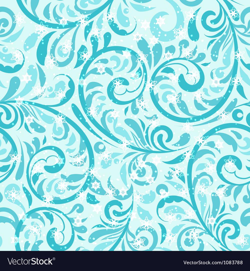 Seamless winter pattern vector | Price: 1 Credit (USD $1)