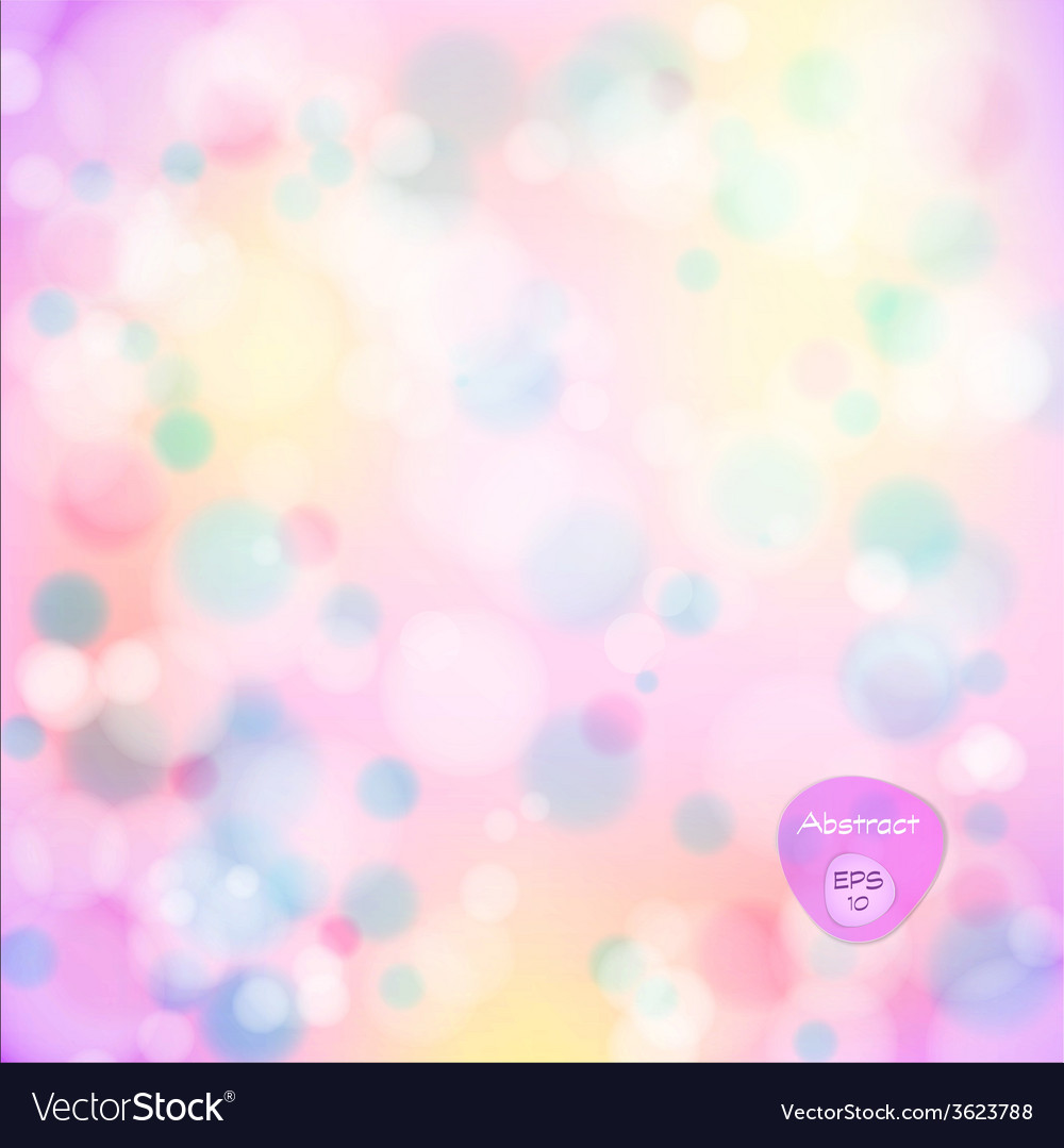 Soft colored abstract background elegant abstract vector | Price: 1 Credit (USD $1)