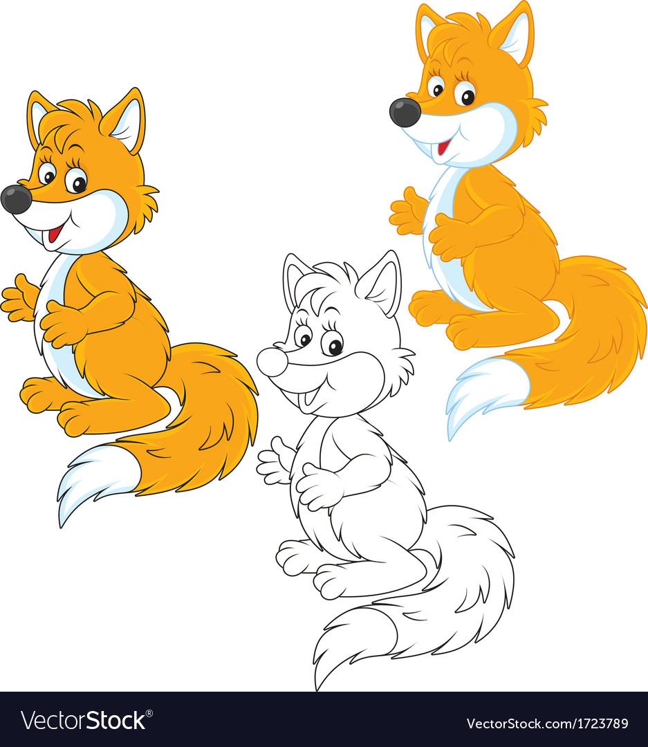 Fox vector | Price: 1 Credit (USD $1)
