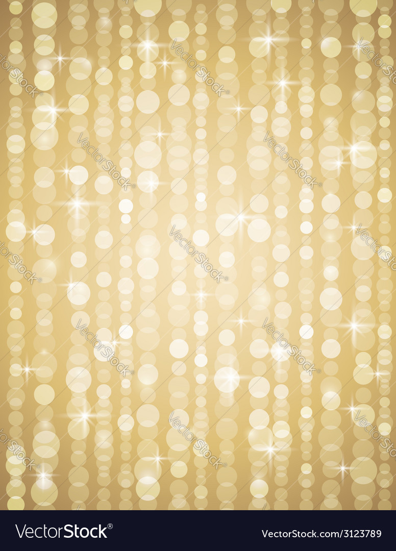 Golden brightnes suitable for christmas or disco b vector | Price: 1 Credit (USD $1)