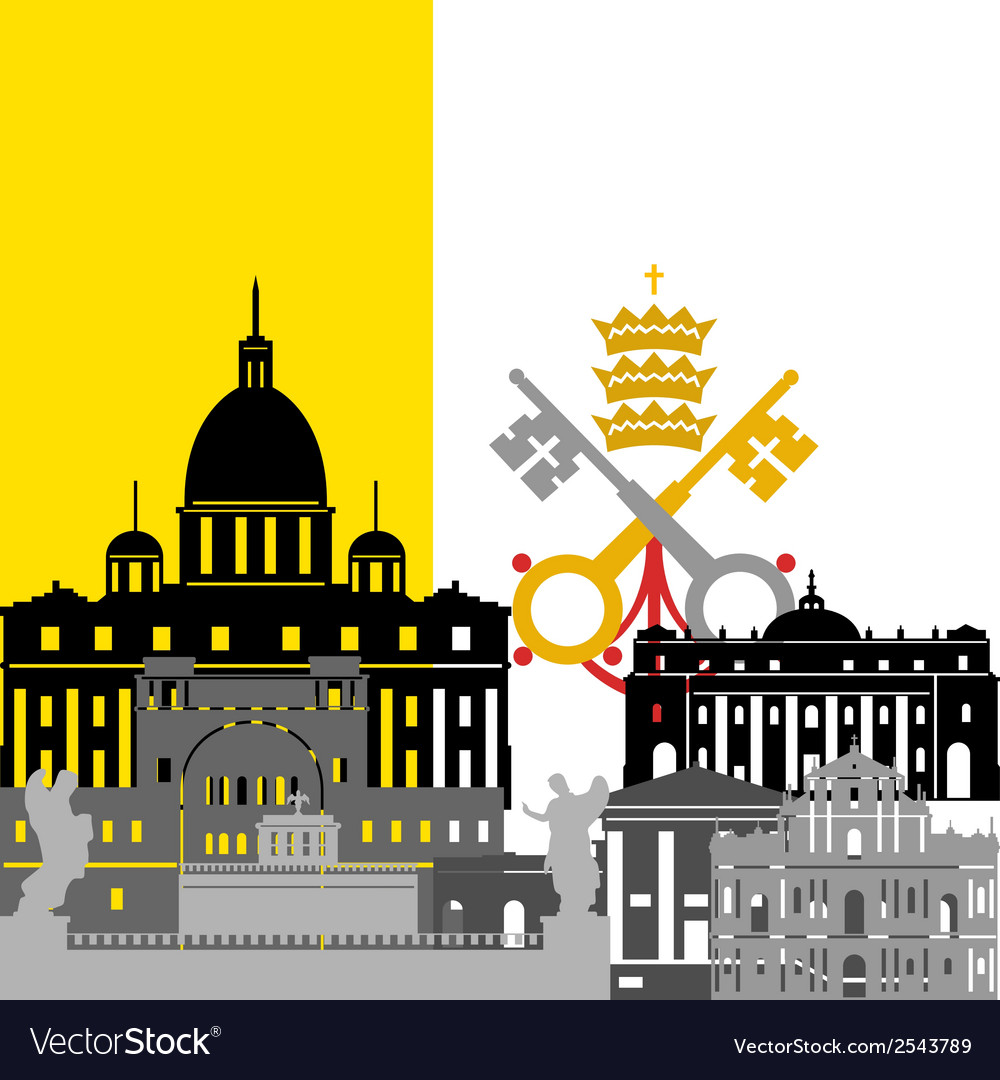 Vatican vector | Price: 1 Credit (USD $1)
