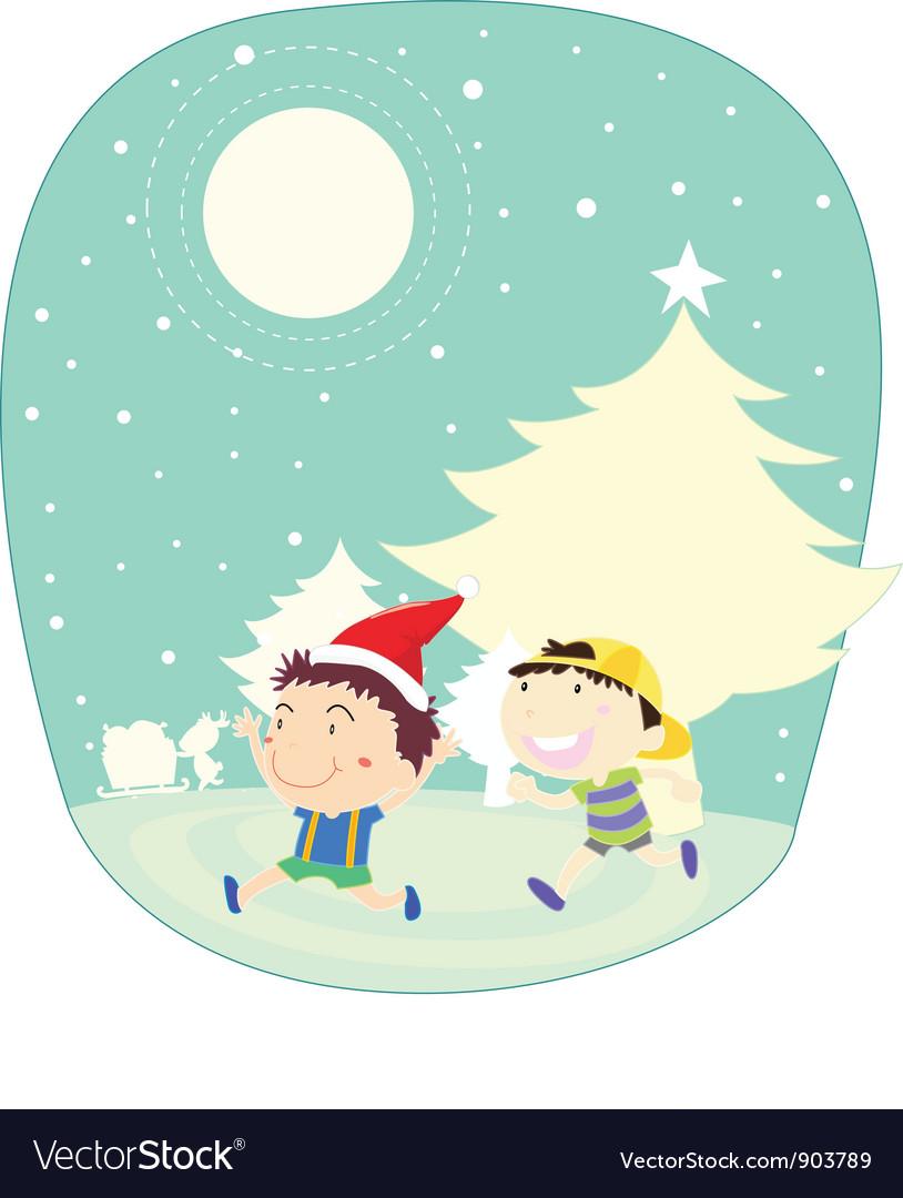 Winter kids vector   Price: 3 Credit (USD $3)