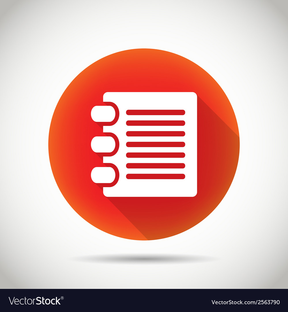 Document icon vector | Price: 1 Credit (USD $1)