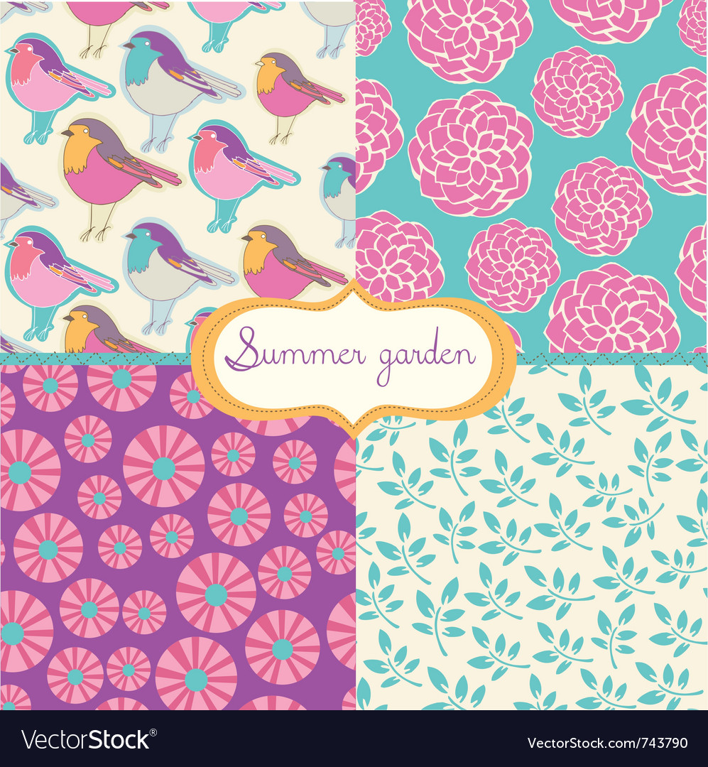Summer vintage vector | Price: 1 Credit (USD $1)