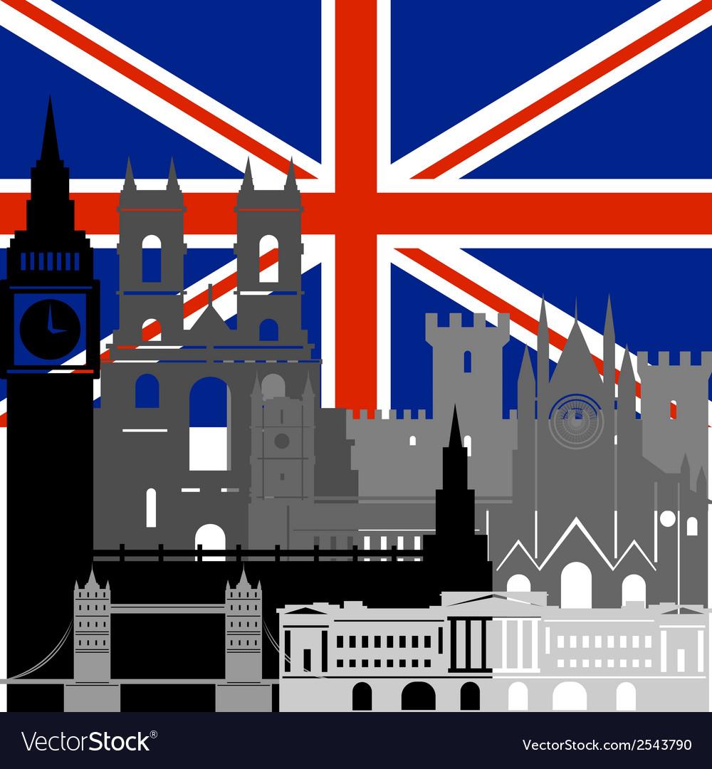 United kingdom vector | Price: 1 Credit (USD $1)