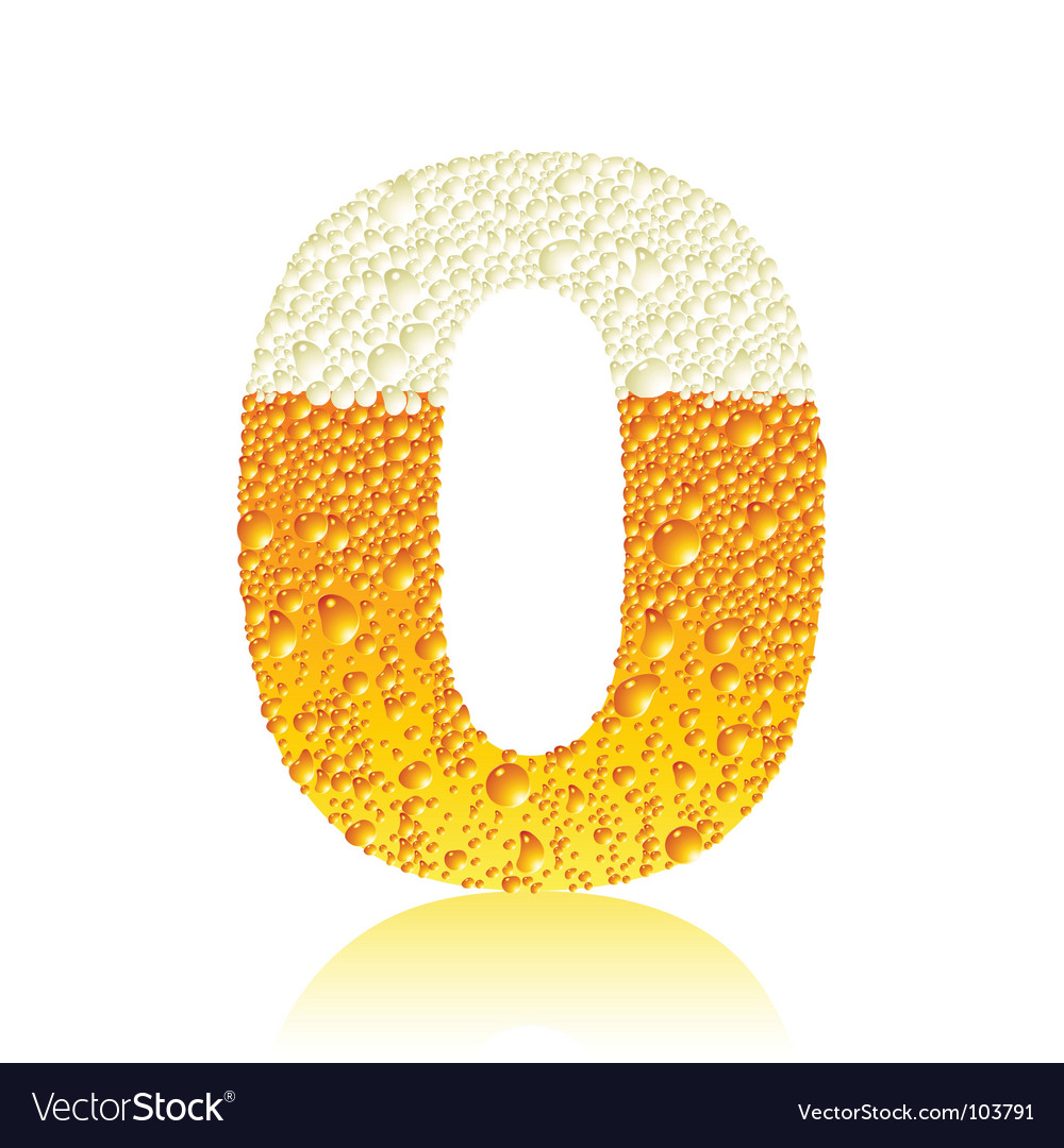 Alphabet beer vector | Price: 1 Credit (USD $1)