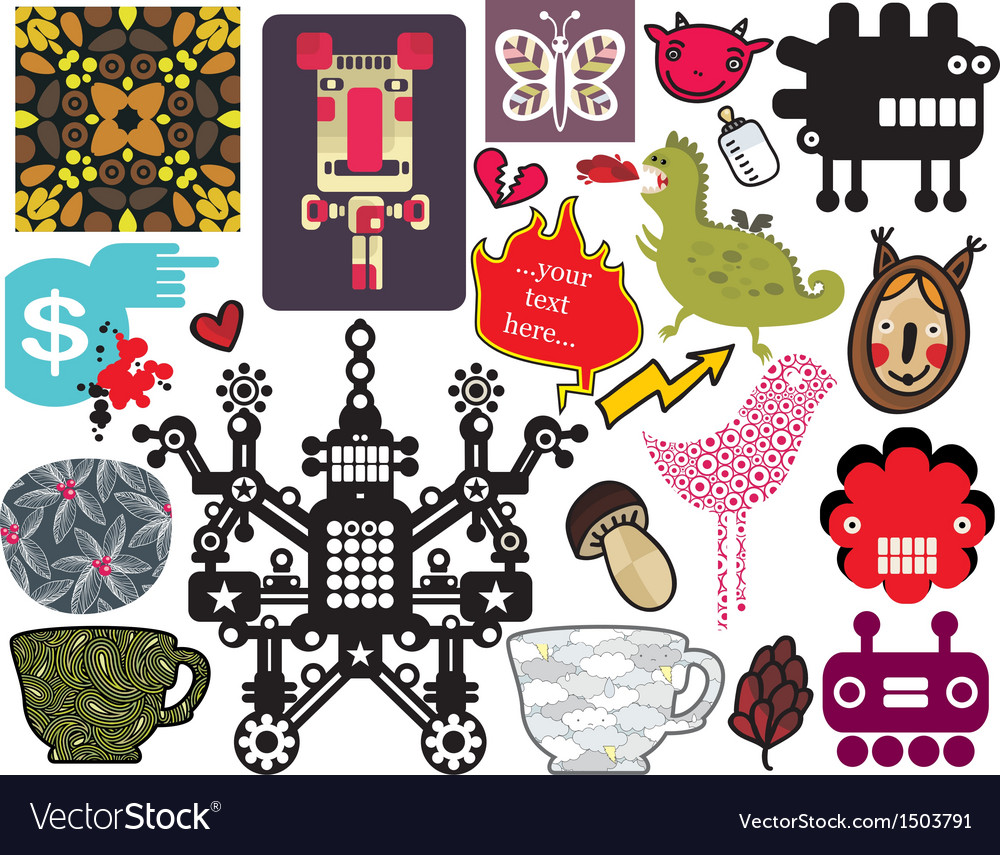 Mix of different images vol57 vector | Price: 3 Credit (USD $3)