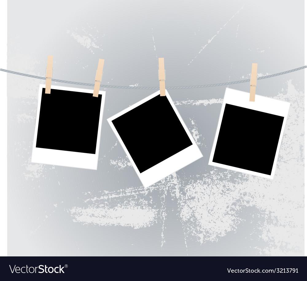 Photos clothespins vector