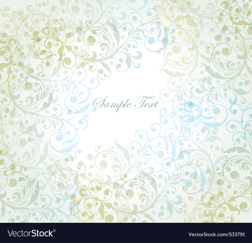 Summer florals vector | Price: 1 Credit (USD $1)