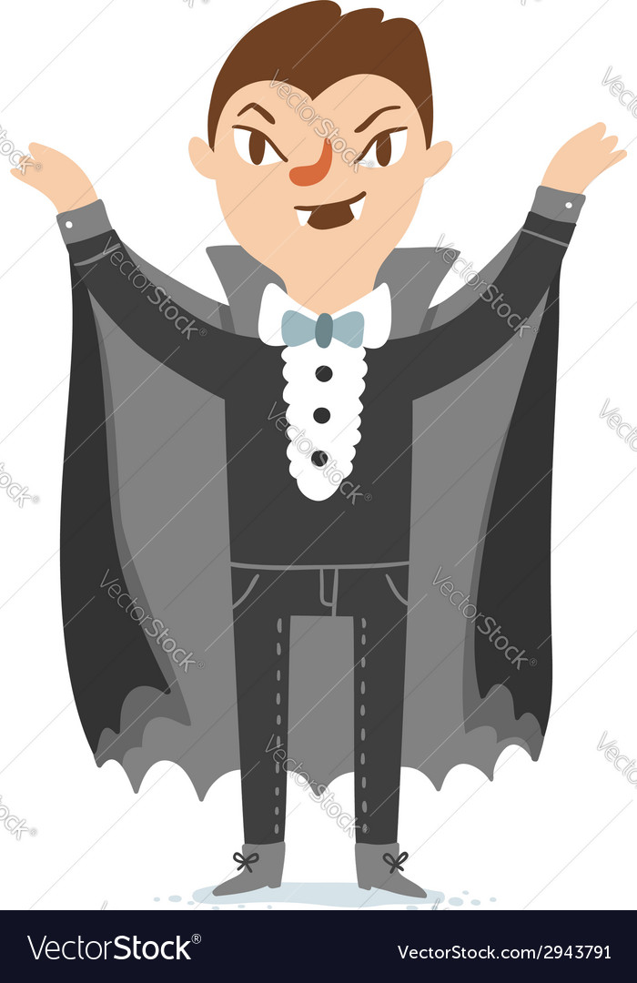Vampire character vector | Price: 1 Credit (USD $1)