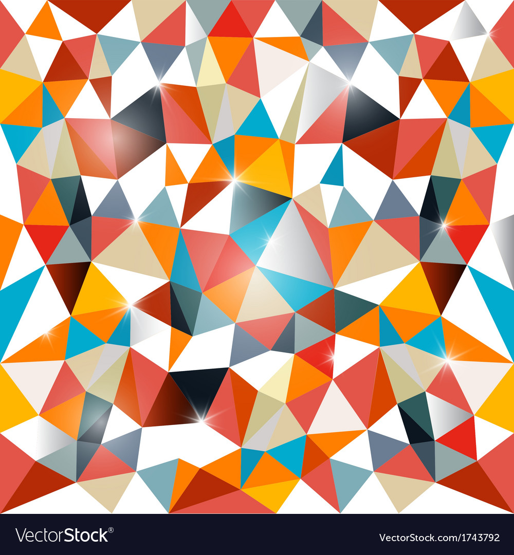 Abstract vecor triangle background vector | Price: 1 Credit (USD $1)