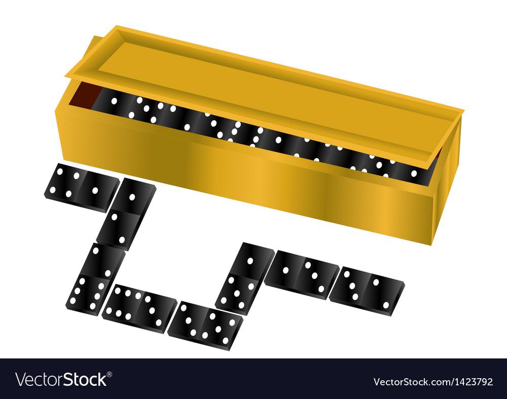 Domino vector | Price: 1 Credit (USD $1)
