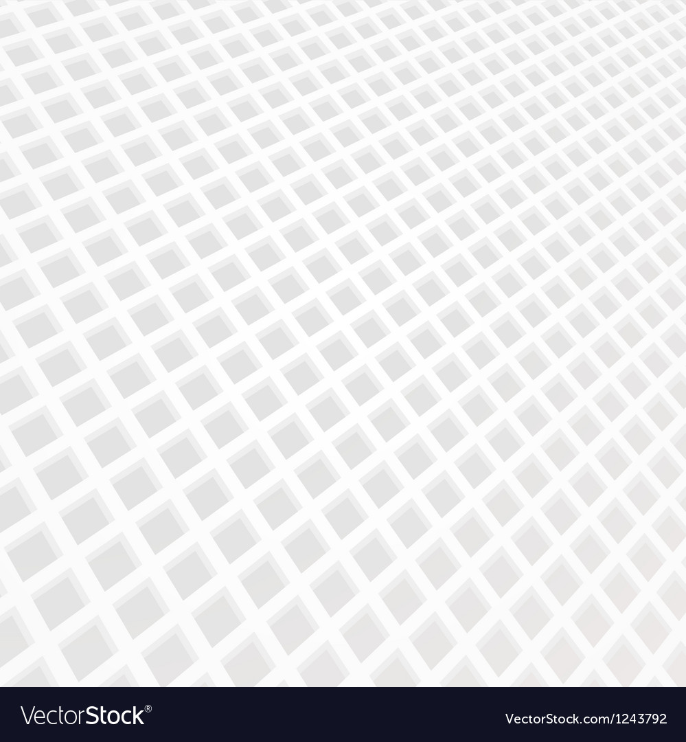 White mosaic grid background vector | Price: 1 Credit (USD $1)