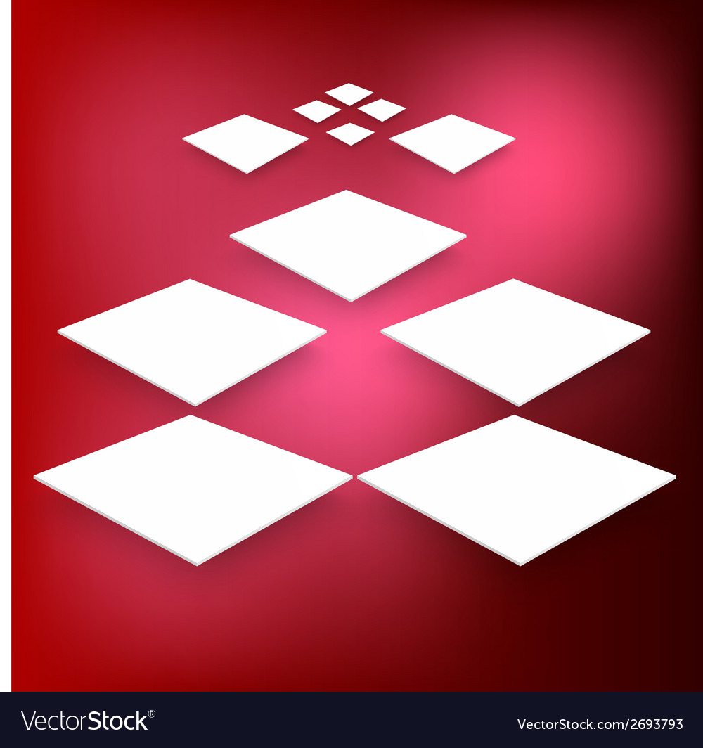 3d banners and squares design vector   Price: 1 Credit (USD $1)