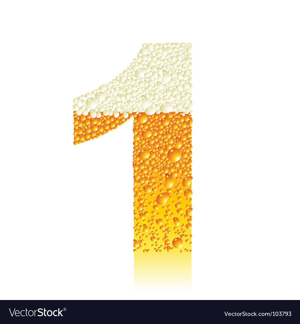 Alphabet beer vector   Price: 1 Credit (USD $1)