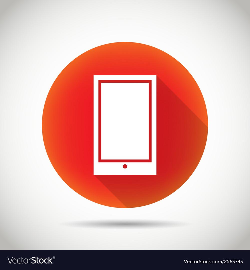 Smartphone icon vector   Price: 1 Credit (USD $1)