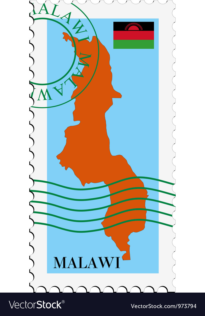 Mail to-from malawi vector | Price: 1 Credit (USD $1)